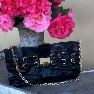 Vintage Jimmy Choo Rio Oversize Convertible Clutch